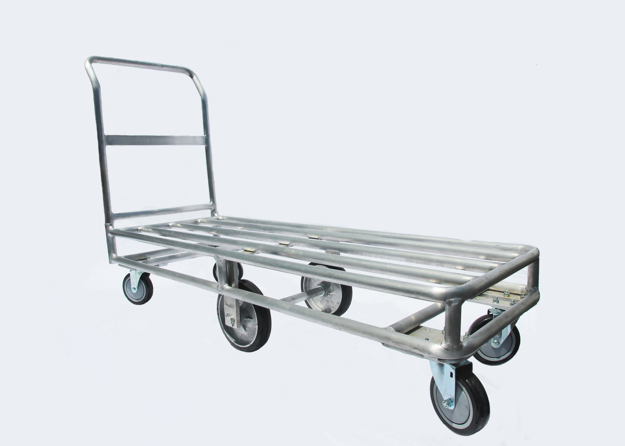 6 Wheel Carts Aluminum Steel Stocking Carts