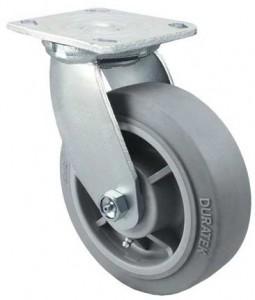 5 X 2 inch Swivel Casters, Top Plate Swivel Casters 5 X 2 wheel, Duratough PU/Polyolefin